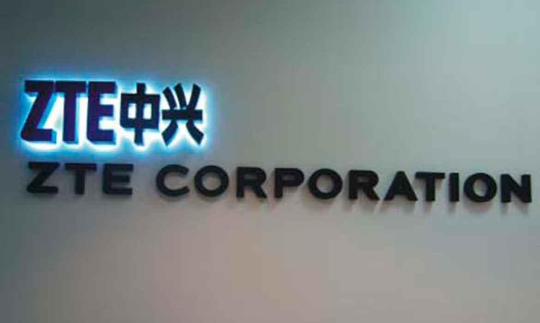 """Объемные буквы """"ZTE Corporation"""""""
