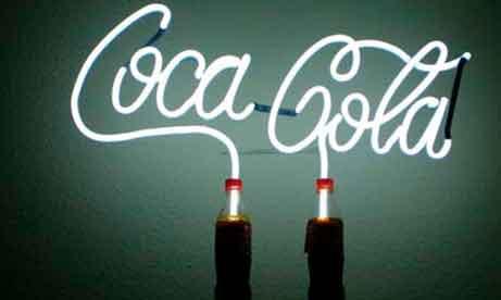 """Неон """"Coca-Cola"""" (миниатюра)"""