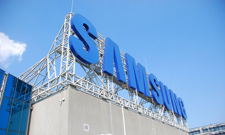 """Крышная установка """"Samsung"""" (слайдер)"""