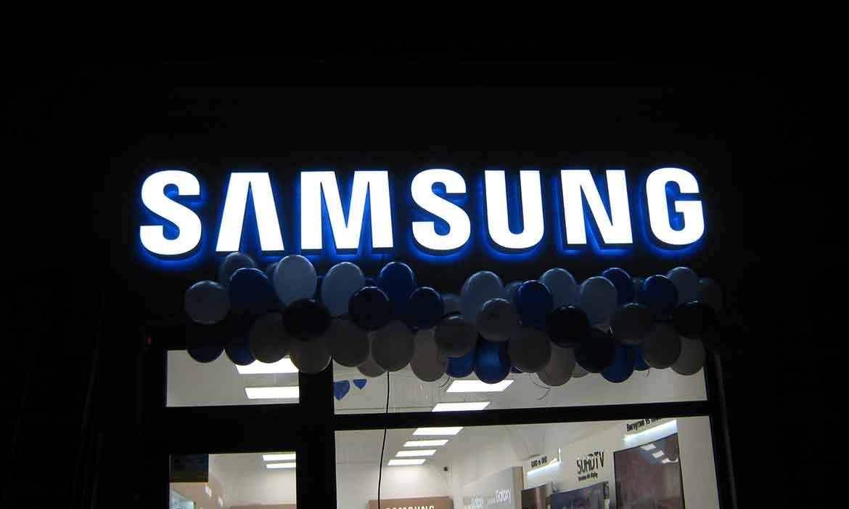 """Вывеска """"Samsung"""" Ужгород"""