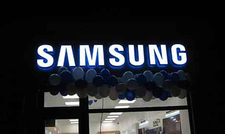"""Вывеска """"Samsung"""" Ужгород (миниатюра)"""