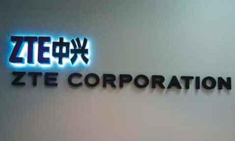 """Объемные буквы """"ZTE Corporation"""" (миниатюра)"""