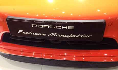 """Табличка """"Porsche"""" (миниатюра)"""
