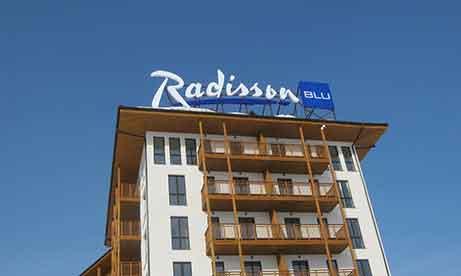 """Крышная установка """"Radisson Blu"""" (миниатюра)"""
