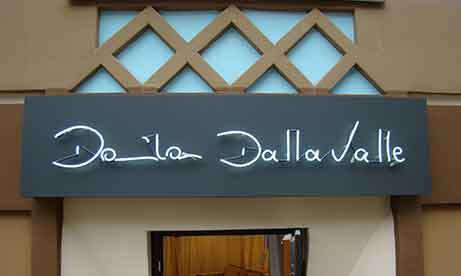 "Белый неон на подложке ""Daniela Dallavalle"" (миниатюра)"