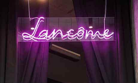 """Фиолетовый неон """"Lancome"""" (миниатюра)"""