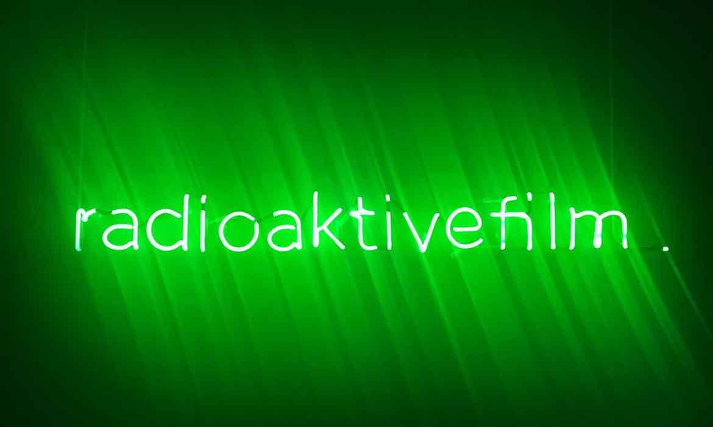 """Зеленый неон """"Radioaktivefilm."""""""