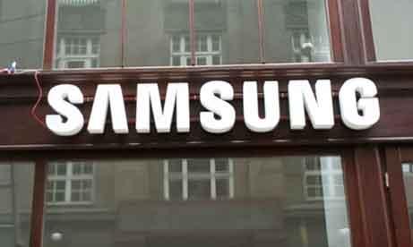 """Объемные буквы """"Samsung"""" Львов (миниатюра)"""