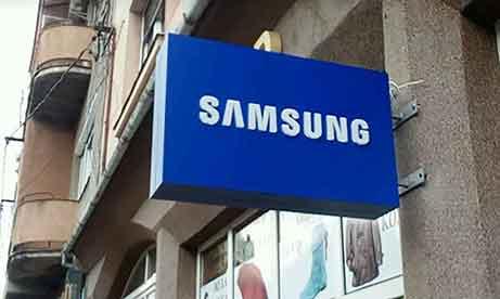 "Двусторонний торцевой лайтбокс ""Samsung"" Мукачево (миниатюра)"