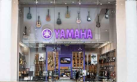 """Объемные буквы """"Yamaha"""" в Lavina Mall (миниатюра)"""