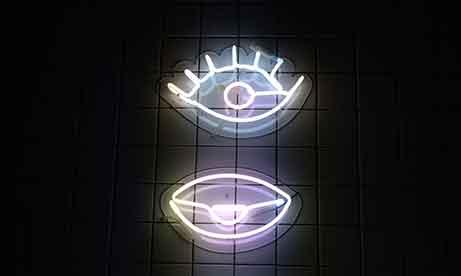 """Неон """"Глаза"""" (миниатюра)"""