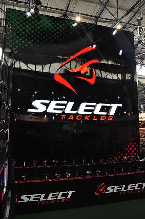 """Выставочный стенд """"Select Tackles"""""""