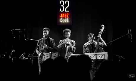 """Интерьерная вывеска """"32 Jazz Club"""" (миниатюра)"""