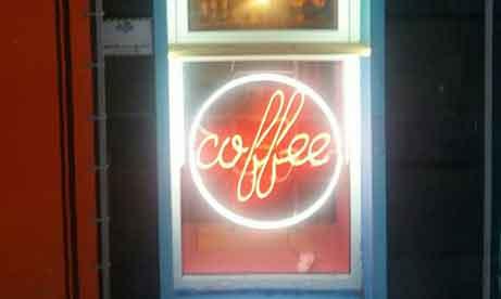 """Неон на витрину """"coffee"""" (миниатюра)"""