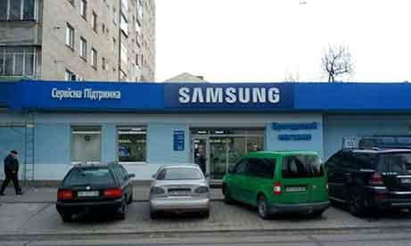 """Комплексное оформление сервисного центра и брендового магазина """"Samsung"""" во Львове (миниатюра)"""