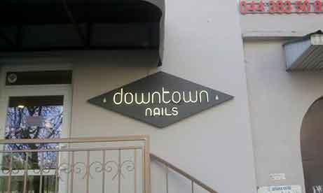 """Оформление салона красоты """"downtown nails"""" (миниатюра)"""