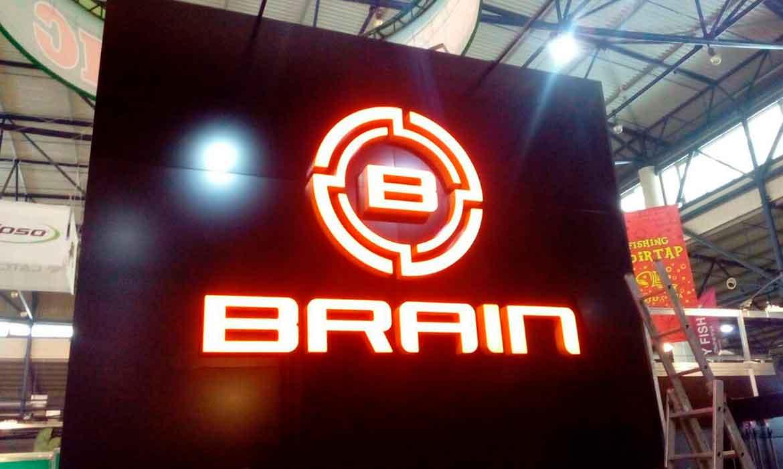 """Выставочный стенд """"Brain"""""""