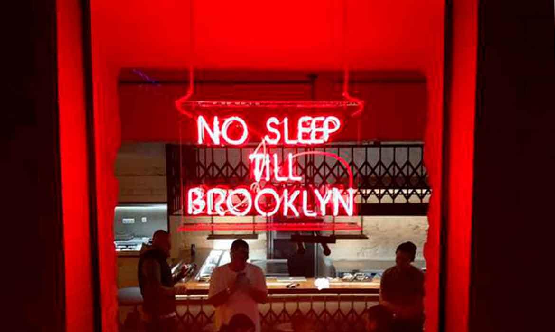"""Neon """"No Sleep Till Brooklyn"""""""