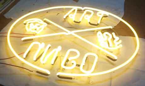 """Неоновый логотип """"Art Пиво"""" (миниатюра)"""