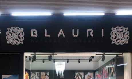 """Объемные буквы с контражурной подсветкой """"Blauri"""" (миниатюра)"""
